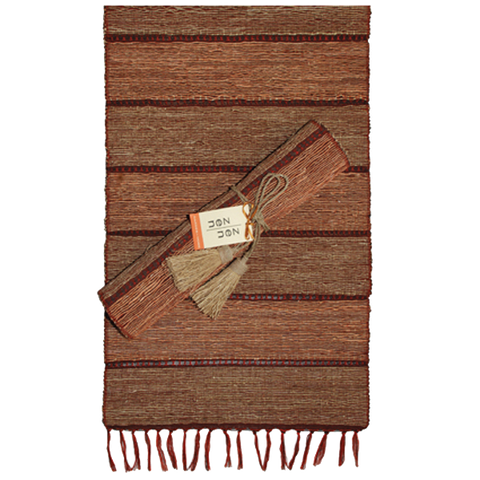 Brick Stripes Vetiver Runner