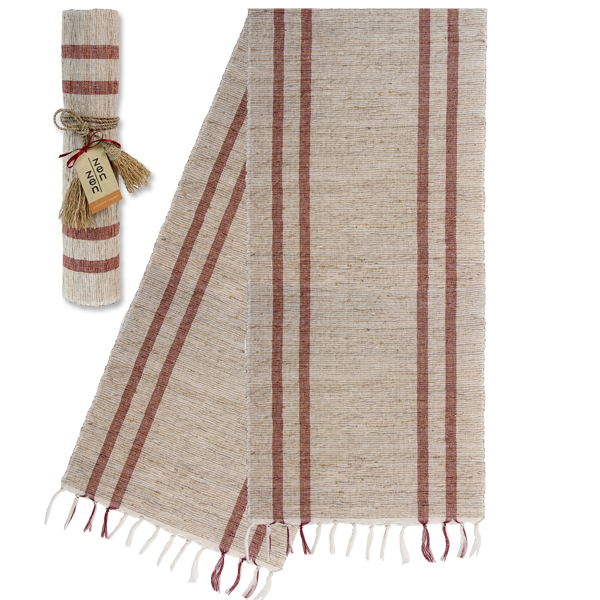 Coral Retro Vetiver Runner