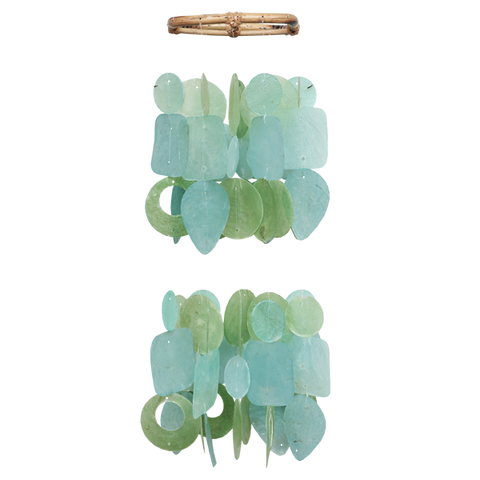 Tidepool Teal Mini Chandelier Chime