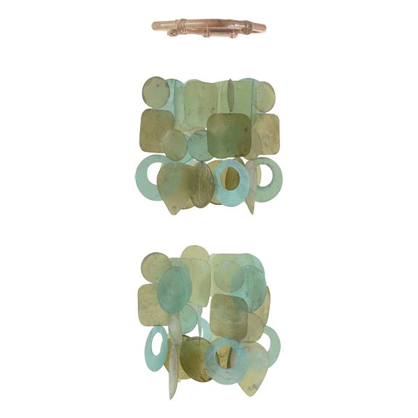 Spring Mini Chandelier Chime