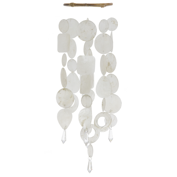 Baby White Chandelier Chime