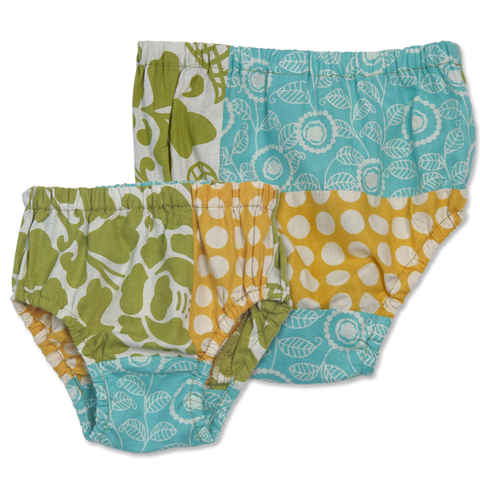 Scrappy Bum Cover Yellow Mix in 2 sizes