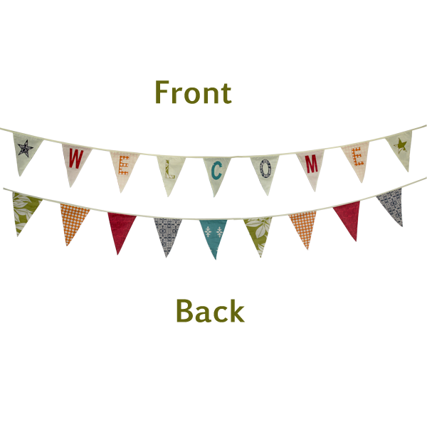 Bunting Flag Banners WELCOME