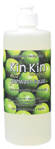 Kin Kin Dishwashing Liquid 550ml - Eucalyptus & Lime