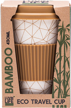 Load image into Gallery viewer, Luvin Life Bamboo Travel Mug - Geo