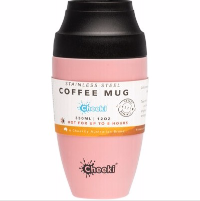 Cheeki Coffee Mug  Pink 350ml