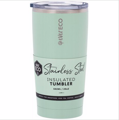 Insulated Stainless Steel Tumbler 592ml - Sage