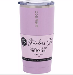 Insulated Stainless Steel Tumbler 592ml - Purple