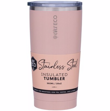 Insulated Stainless Steel Tumbler 592ml - Rose