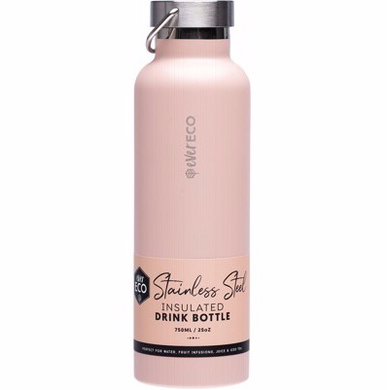 Stainless Steel Bottle  Insulated - Rose 750ml