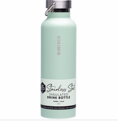 Stainless Steel Bottle  Insulated - Sage 750ml