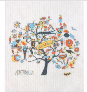Biodegradable Dishcloth - Aussie and Christmas