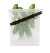 Load image into Gallery viewer, Reusable Food Silicone Snack Bag 500ml