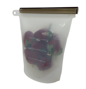 Reusable Food Silicone Snack Bag 500ml