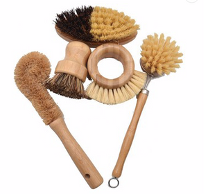 Eco Wooden Brush Set
