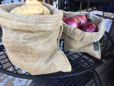 Recycled Potato Sack Produce/Plant Sack