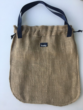 Load image into Gallery viewer, Large Reusable Hessian Produce Bag