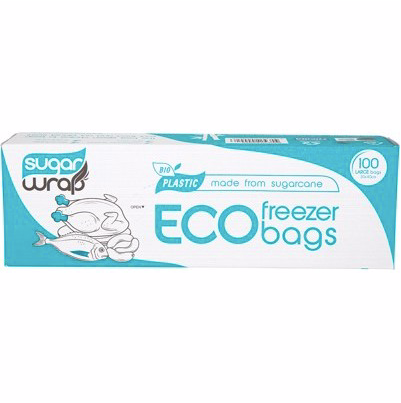 Eco Freezer Bags made from Sugarcane - Medium