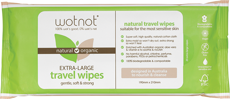 Travel Wipes Refill - extra large