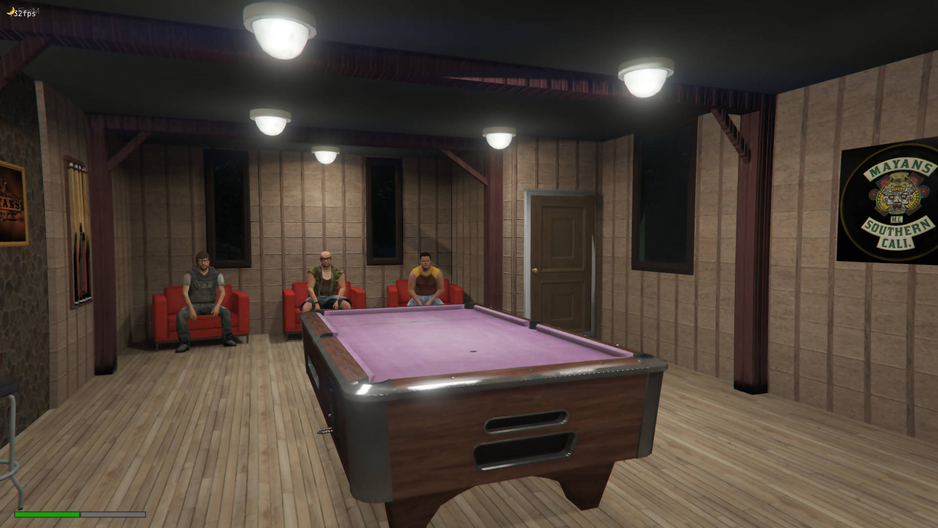 Mayans MC Clubhouse | Open MLO Interior