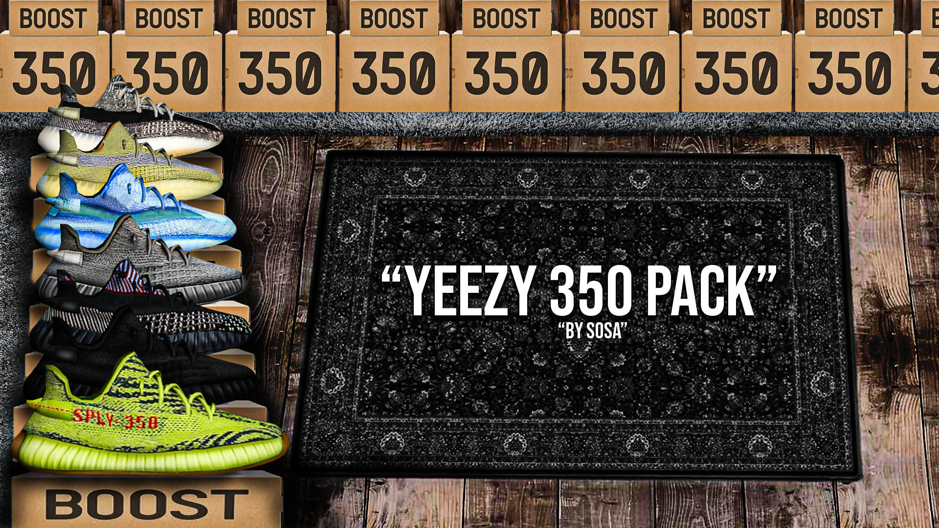 Yeetzy 350 Pack | [Custom 3D Model]