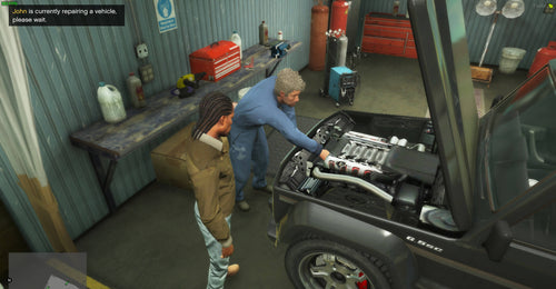MechanicNPC's | Repair Vehicles For You