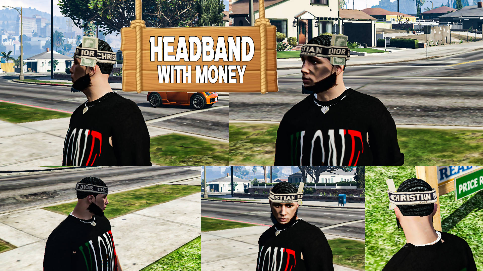 Headband with Money