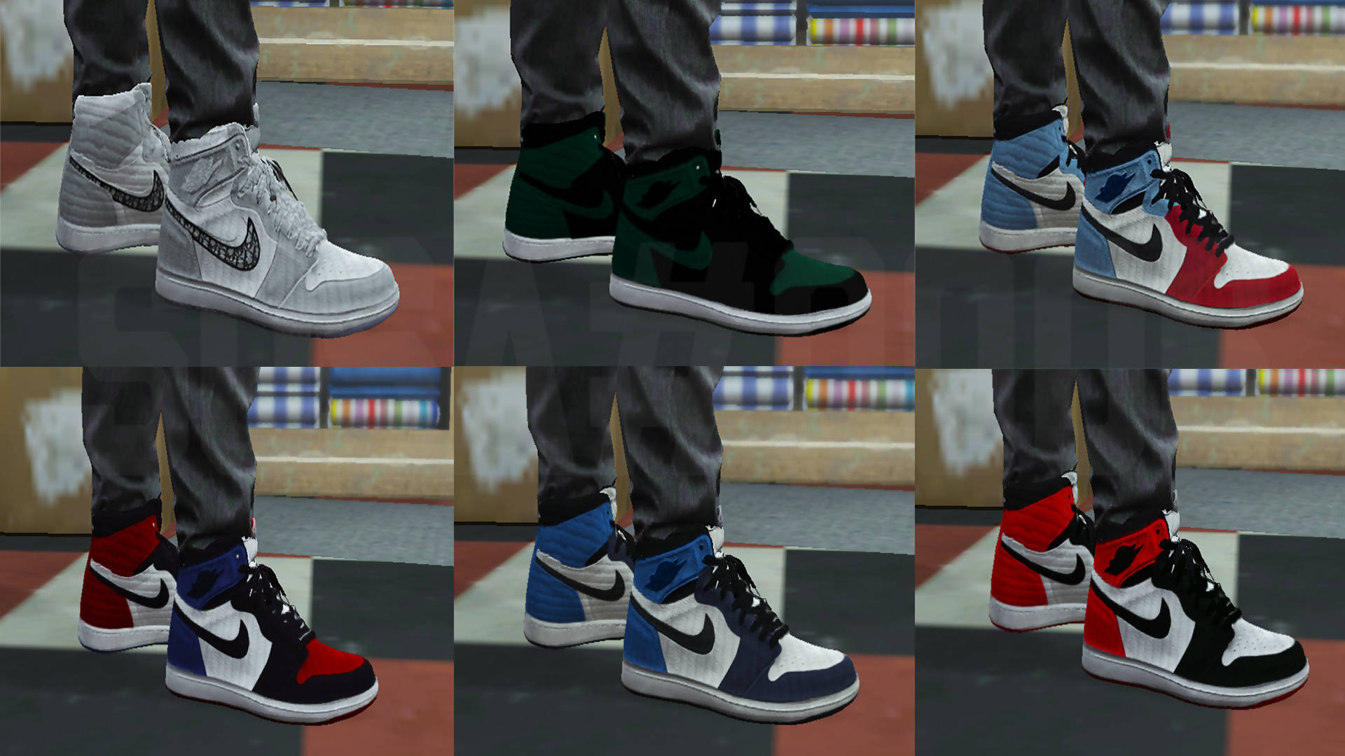 HYPED AIR JORDAN [PACK ONE]
