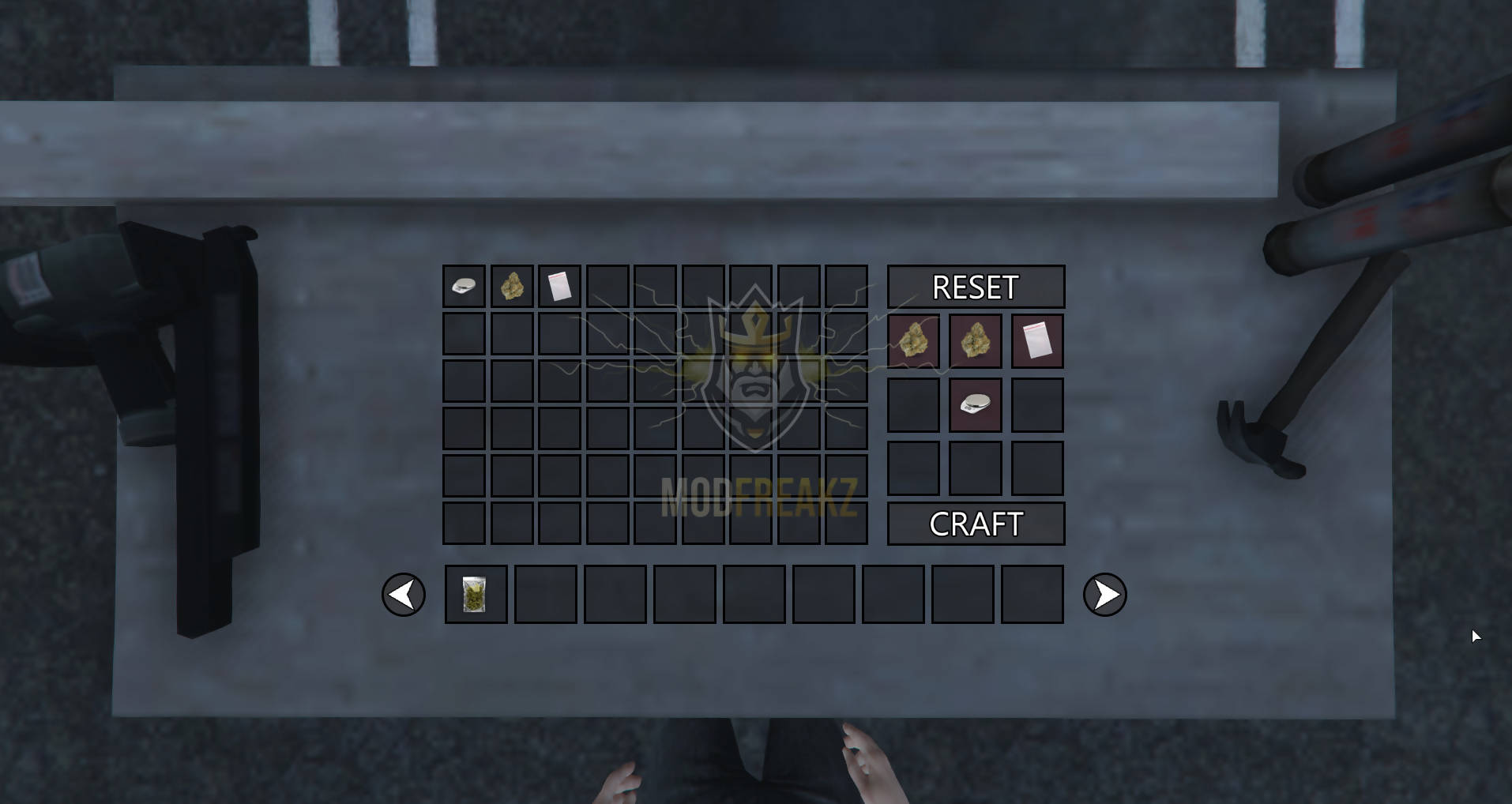 ModFreakz: Crafting Table