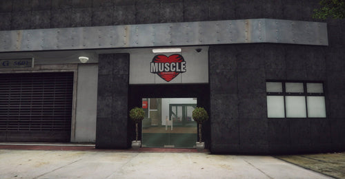 Muscle Gymnasium Interior | [MLO]