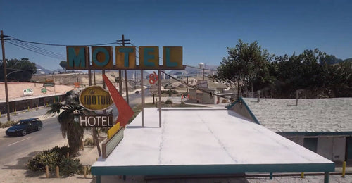 Sandy Motels DELUXE | Works W/ [Pluto Motels] | [MLO]