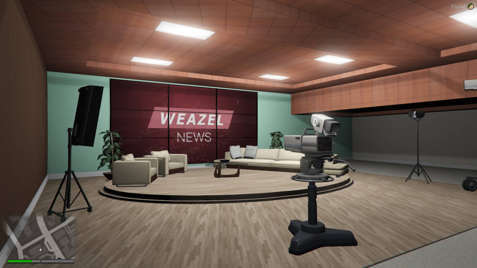 Weazel News Open MLO Interior