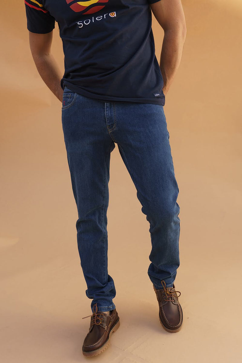 Pantalon Tejano Cto Light Blu