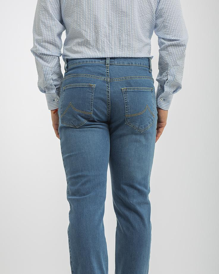 Pantalón Tejano Cto Light Blue