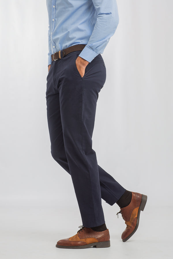 Pantalón Chino Regular Marino