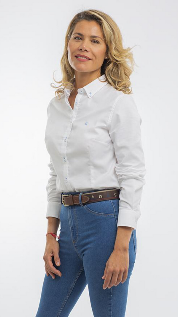 Camisa Oxford Lisa Blanca