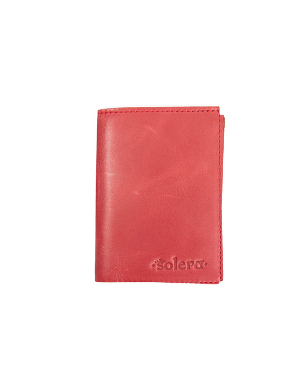 Cartera Vertical Colored Rojo