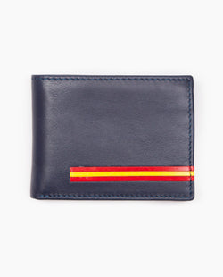 Cartera Horizontal Long Flag Azul