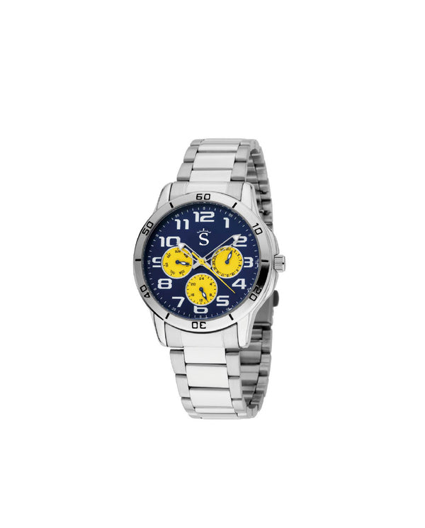 Reloj Triple Racing Amarillo