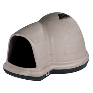 PETMATE INDIGO DOG HOUSE WITH MICROBAN, LARGE 50- 90 LBS REDUCED PRICE