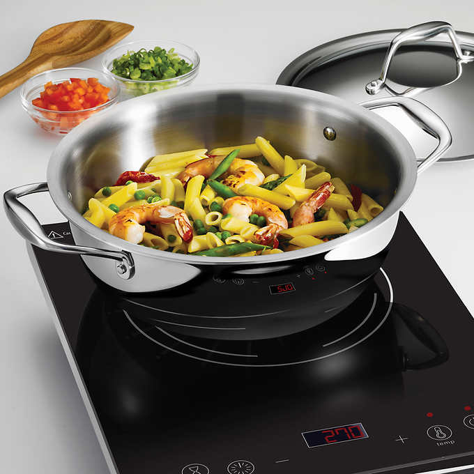TRAMONTINA 3- PIECE INDUCTION COOKING SYSTEM