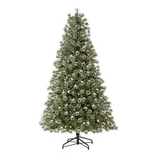 Load image into Gallery viewer, HOLIDAY TIME PRE-LIT REDLAND SPRUCE ARTIFICIAL CHRISTMAS TREE 7.5 CLEAR
