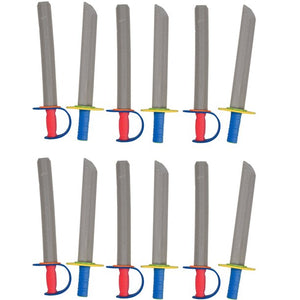 TIGERDOE - FOAM SWORDS FOR KIDS - TOY SWORDS -NINJA SWORDS -TOY WEAPONS SWORDS - 12 PACK