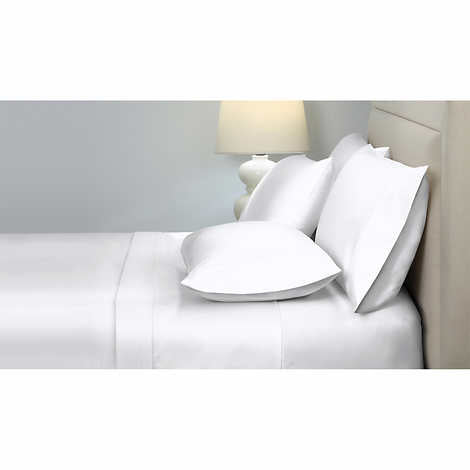 KIRKLAND SIGNATURE 540 THREAD COUNT SATEEN SHEET SET KING