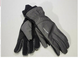 HEAD MEN'S WATERPROOF HYBRID GLOVES TOUCH SCREEN M