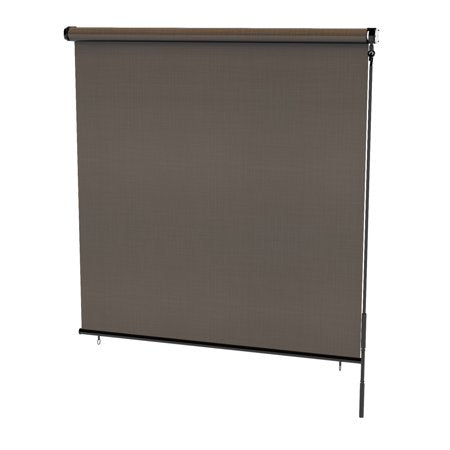 RADIANCE 6'x6' CRANK OPERATED ROLL UP SOLAR SHADES