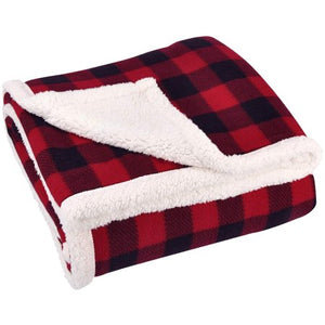 "SUNBEAM HEATED ELECTRIC MICROPLUSH THROW BLANKET, 60'x50"" , RED BUFFALO PLAID"