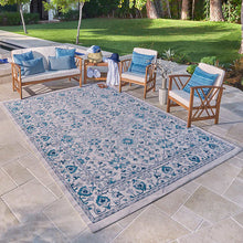 "Load image into Gallery viewer, VENICE INDOOR/ OUTDOOR AREA RUG COLLECTION, GATSBY (5'3"" X 7' 5"")"