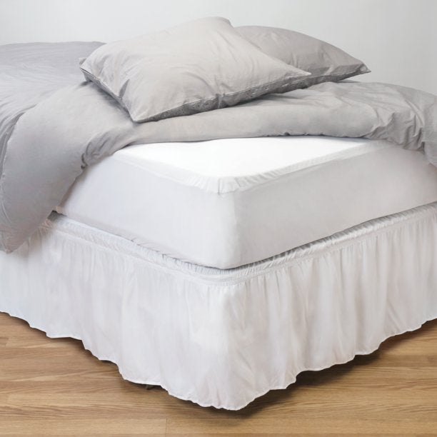 HOME DETAILS TWIN XL DELUXE MATTRESS PROTECTOR WITH FULL ZIPPERED ENCASEMENT (80 X 39 X 12 )