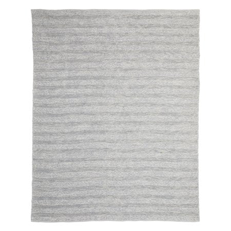 MODRN 8' x 10' GREY TEXTURE OUTDOOR AREA RUG